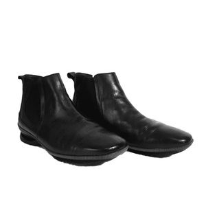 Asgi Leather Black Casual 3001 Ankle Boots 11